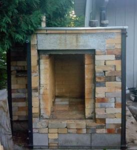 Rose Palen's kiln